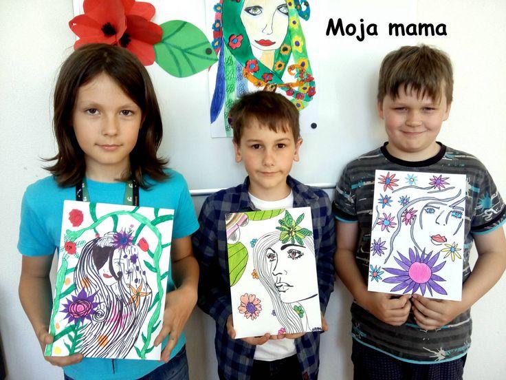 Art project kids Mama