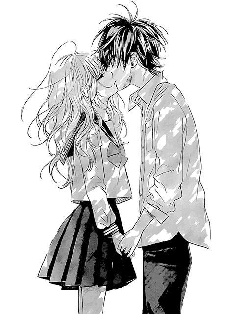 Белые аниме картинки любовь