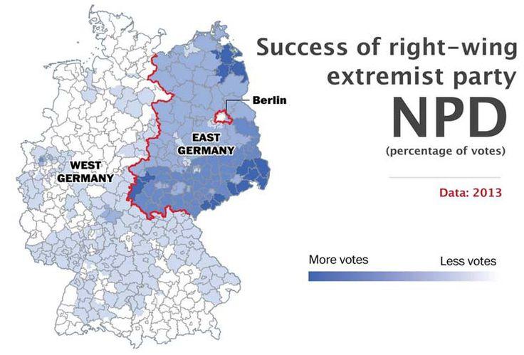 Preferencias políticas - 10 hechos que demuestran que Alemania sigue dividida - Planificamos tu viaje