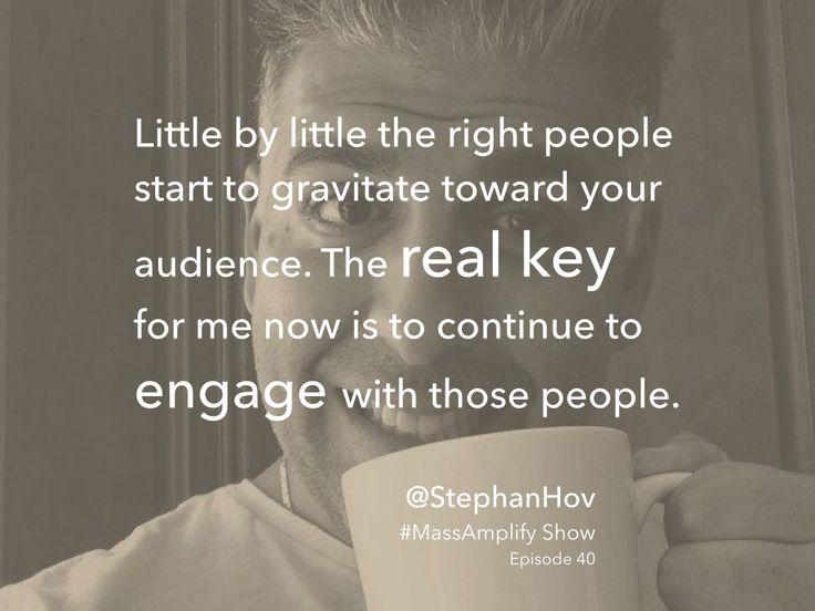 Stephan Hovnanian on Mass Amplify Show episode #40 http://massamplify.com
