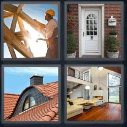 137 best 4 fotos 1 palabra 4 letras images on pinterest - Casa letras madera ...
