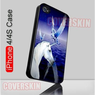 Pegasus Winged Horse Mitos iPhone 4 or 4S Case Cover - 1