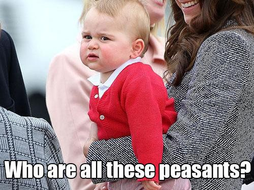 Deep thoughts with Prince George (18 photos)