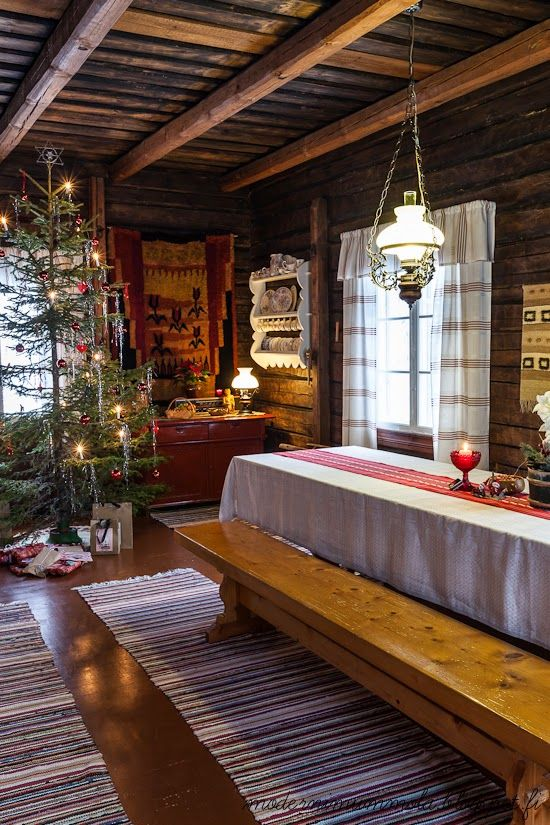 Modernized traditional Finnish interior | Moderni mummola