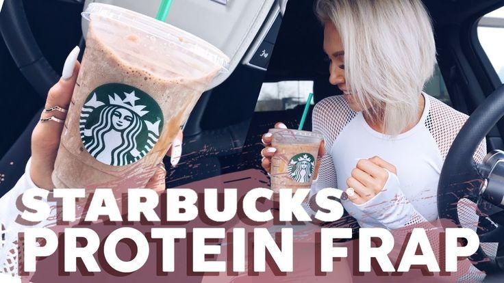 Starbucks PROTEIN Frappuccino - YouTube