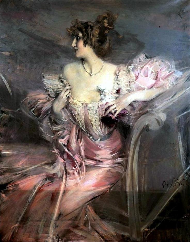 Giovanni Boldini   Marthe de Florian, 1898