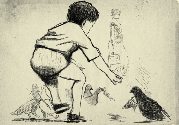 Omaggio a Robert Weaver Art Rage 4/ Matite e gessetto