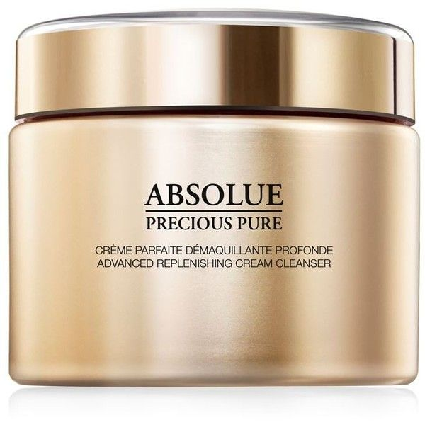 Lancôme Absolue Precious Pure Advanced Replenishing Cream Cleanser (240 BRL) ❤ liked on Polyvore featuring beauty products, skincare, face care, face cleansers, lancome face cleanser, lancome facial cleanser, lancome face wash, cream facial cleanser and lancôme