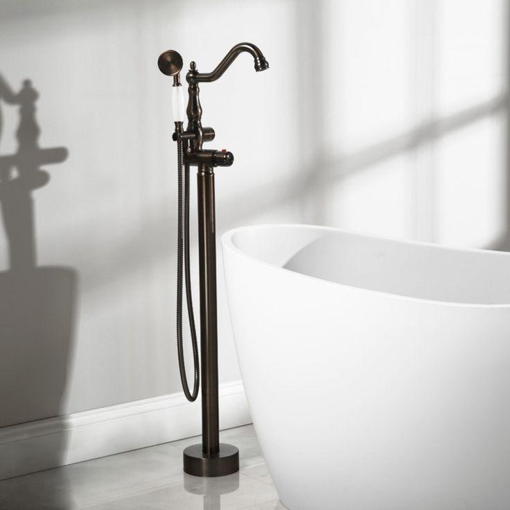 16 best Free Standing Tub Fillers images on Pinterest   Bathtubs ...