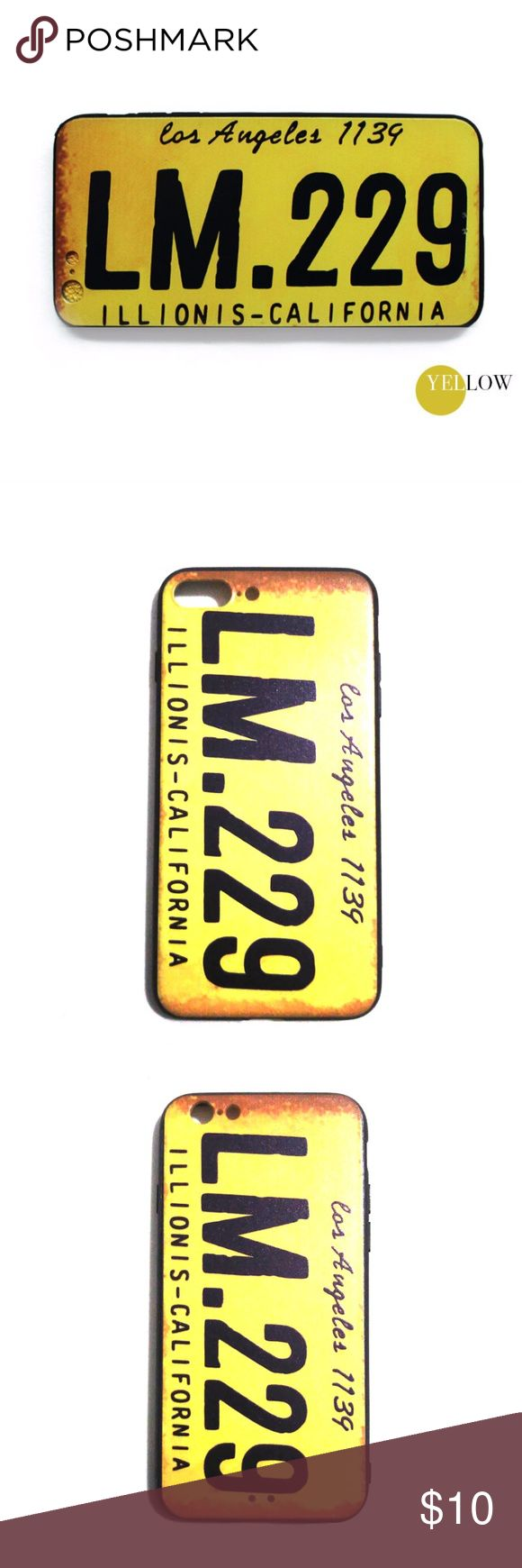 iPhone Case 6/6s 7/7 Plus NEW Style iPhone Case Innovative Design Beautiful and Fashion  THIS IPHONE CASE AVAILABLE FOR iPhone 6/6S iPhone 6/6S Plus iPhone 7 iPhone 7 Plus  Check my store for MORE OPTIONS: Vehicle Number Plate of Los Angeles LM.299  Vehicle Number Plate of Oklahoma FU 724 The Beatles Hollywood Clapperboard Elephant with Standing Ring Other