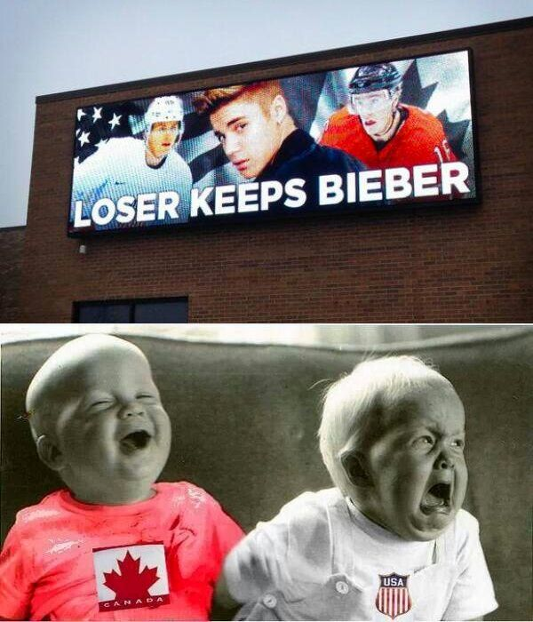 I AM DYING! THIS IS THE BEST THING EVER! No offense Beliebers but I just thought this was really funny