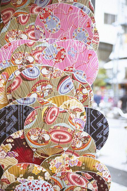 Japanese paper fans