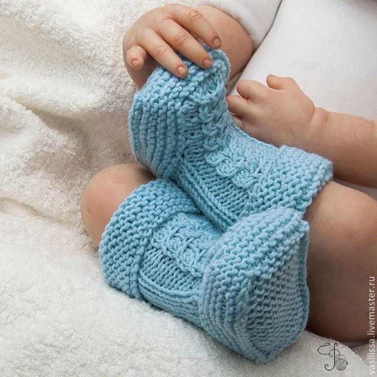 Купить Пинетки - сапожки для новорожденных. - пинетки, пинетки для новорожденных, шерстяные пинетки, пинетки шерстяные ♥♥
