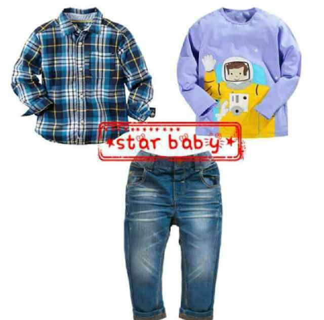 BC159 Setelan Anak Astronot Size 2th 3th 4th 5th 7th Rp 144.000 (ready)