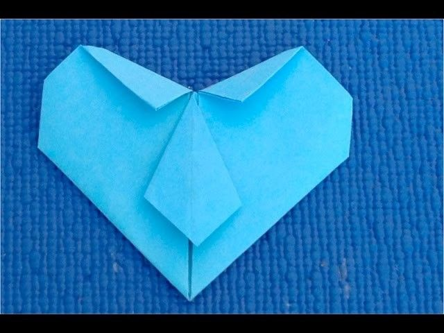 DIY:Подарок на на День Рождения для папы♥ (сердце- рубашка из бумаги) своими руками