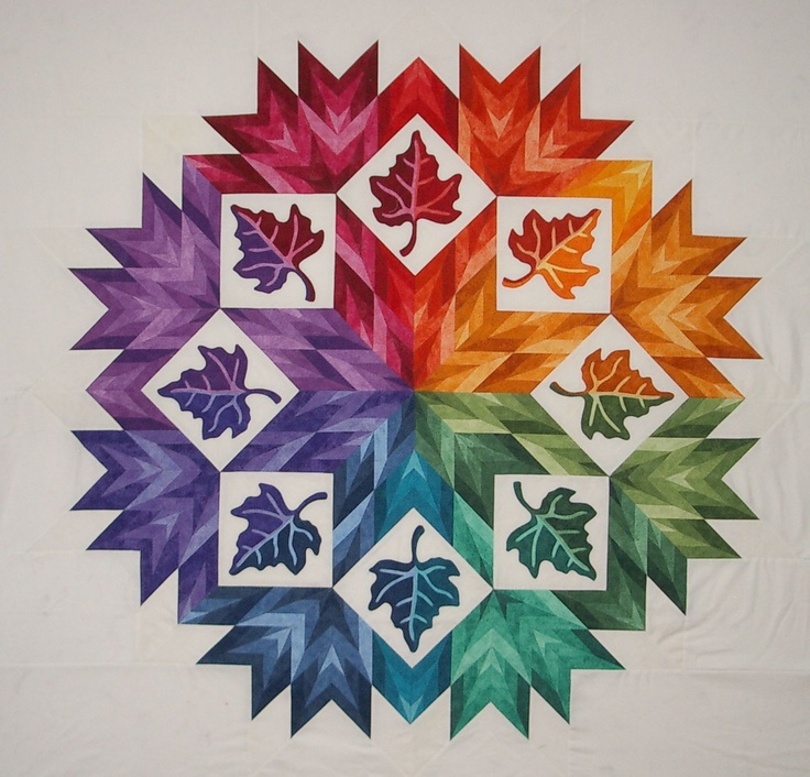 Quilt: Star Crystal by Elsie M Campbell