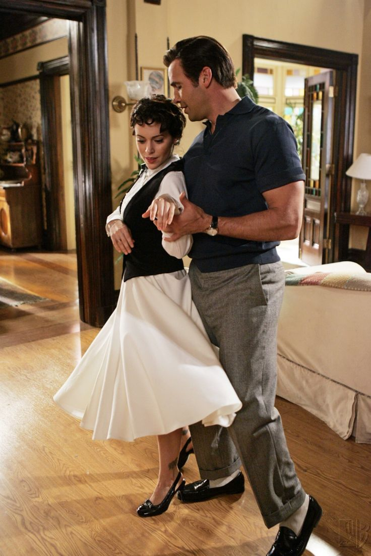 Billy Zane and Alyssa Milano, who happens to be one of my favorite actresses