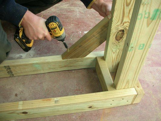 Build your own firewood rack with these free plans