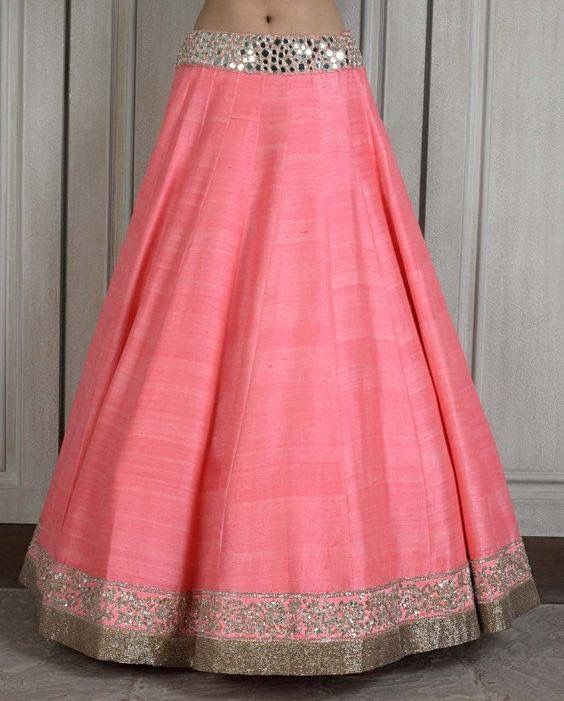 Artificial Raw Silk Lehenga!!! Buy raw silk fabric online for only Rs 90 per meter and create yourself this beautiful Lehenga!!!   Click here : http://www.sarojfabrics.com/index.php?route=product/product&product_id=207&search=Artificial+raw+silk