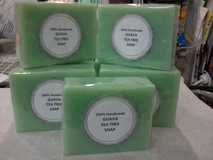 Handmade Guava tea tree soap   (for skin healing)