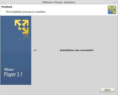 Installing VMware player in unbuntu in order to load virtually load windows xp