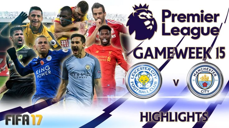 The FIFA 17 Premier League continues with Gameweek 15! All of the Goals, all of the highlights and results from matches including Manchester City vs title holders Leicester City, Liverpool vs West Ham and Arsenal vs Stoke City.   #FIFA #GAMEWEEK #highlights #League #premier