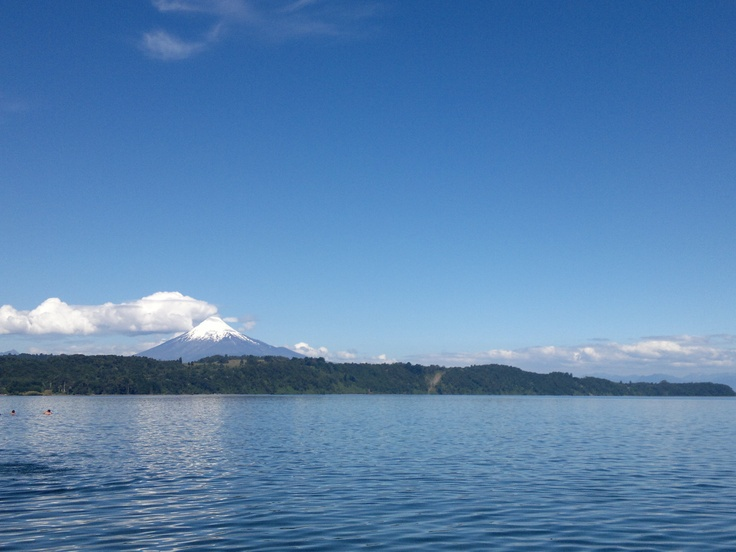 Playa Maitén. Lago Llanquihue, X región. Chile.