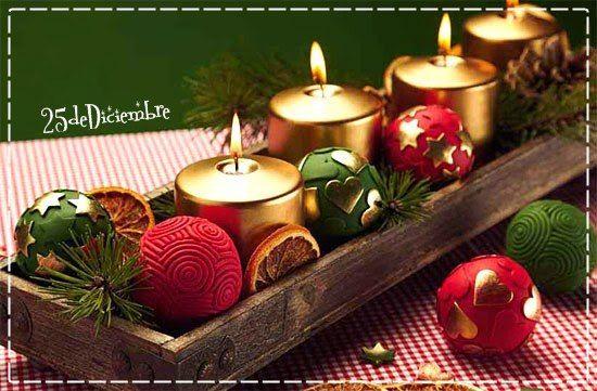 Centros de mesa tipo Vintage » http://25dediciembre.com/centros-de-mesa-tipo-vintage/ #Decoración #Navidad