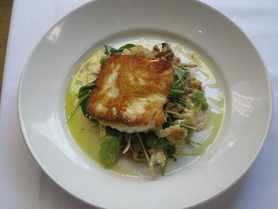 Roasted Pacific Halibut withSummer Vegetables By Chef Luca Corazzina (312 Chicago)