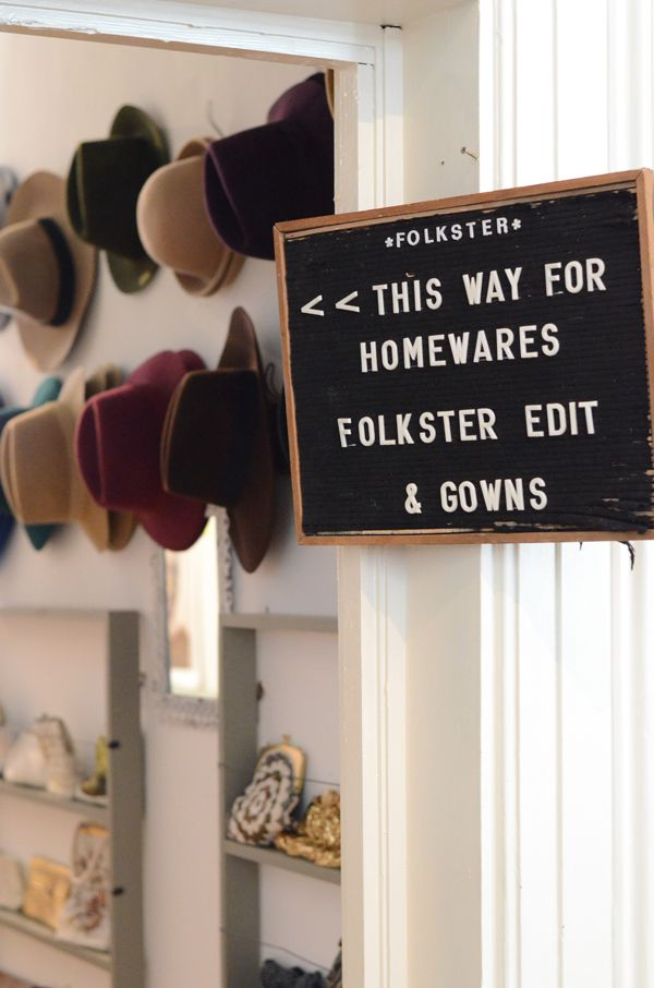 Folkster Homewares and Vintage Clothing in Temple Bar