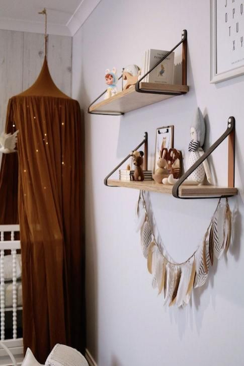 Stunning nursery 'bohemian meets wilderness'  - Miss Kyree Loves - featured on BABY BERRY