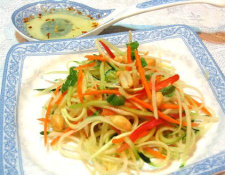 Khmer Green Papaya Salad and the Story of Sala Bai Hotel and Culinary School