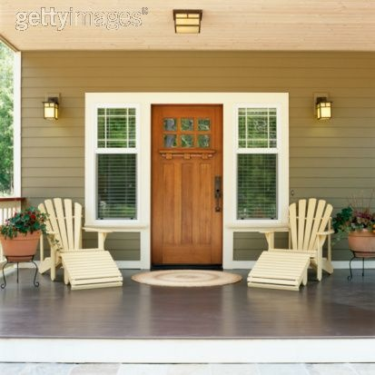 Craftsman style entry