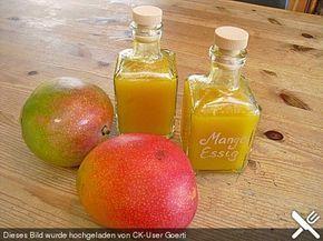 Mango Essig, ein tolles Rezept aus der Kategorie Raffiniert & preiswert. Bewertungen: 10. Durchschnitt: Ø 3,9.