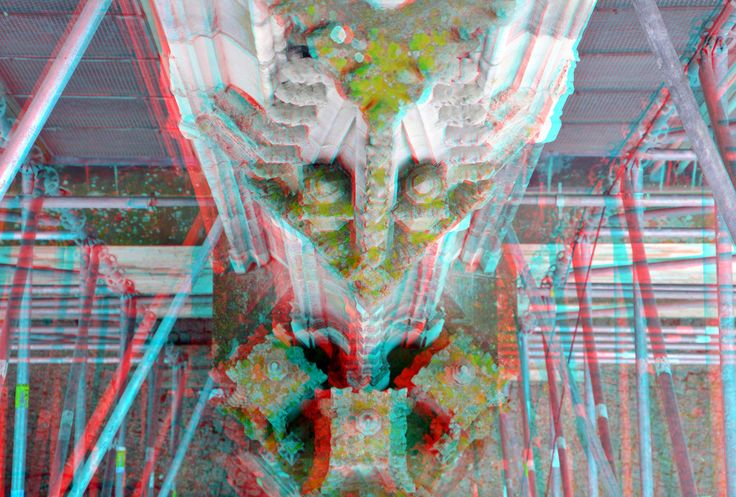 https://flic.kr/p/FNwmb9 | Beklimming Sint-Janskathedraal Den Bosch 3D | anaglyph stereo red/cyan