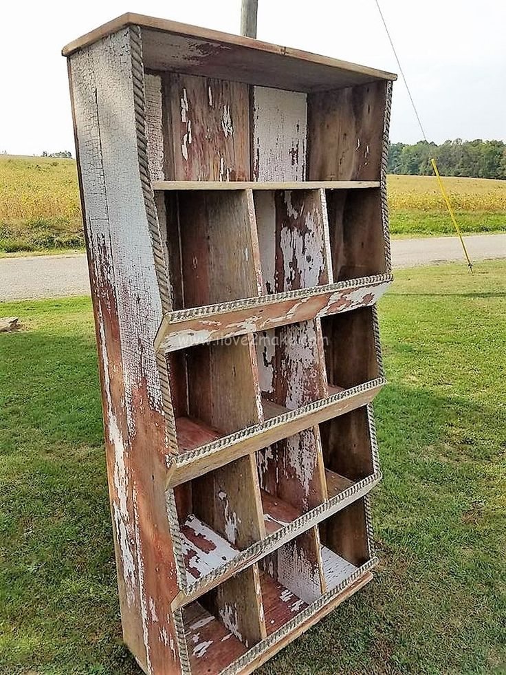 pallet hutch projects