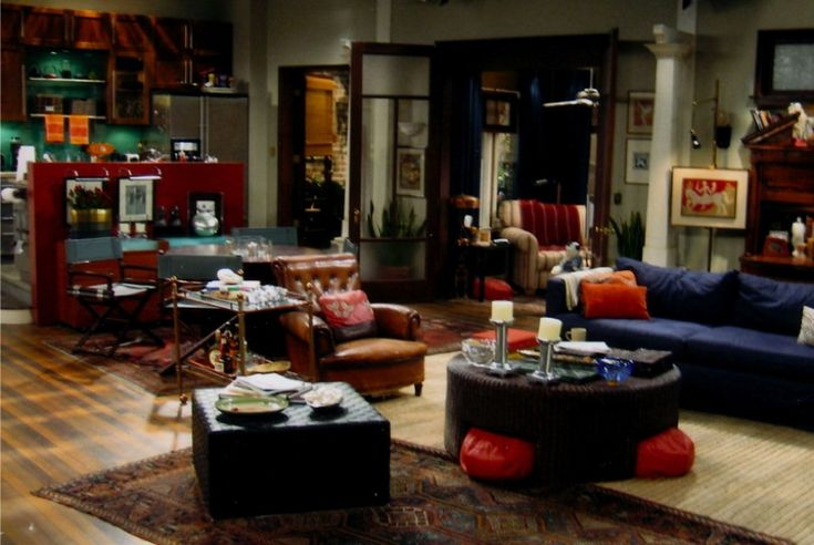 The Set Of Will 39 S Apartment From Will Grace Nbc Set Designs I Love Pinterest Will S