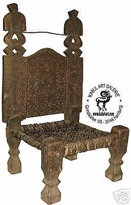 Antik Afghanistan Stuhl Nuristan Chair Kafiristan No:01. Wooden FurnitureAntique  FurnitureSwatAfghanistanOrientalEthnic