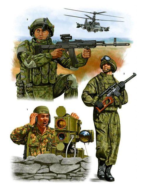 Spetsnaz. Johnny Shumate Modern Spetsnaz (1) (1) Spotter, Georgia, 2008.  (2) Sergeant, Mulino, 2012. (3) Spetsnaz, Moscow, 2014.