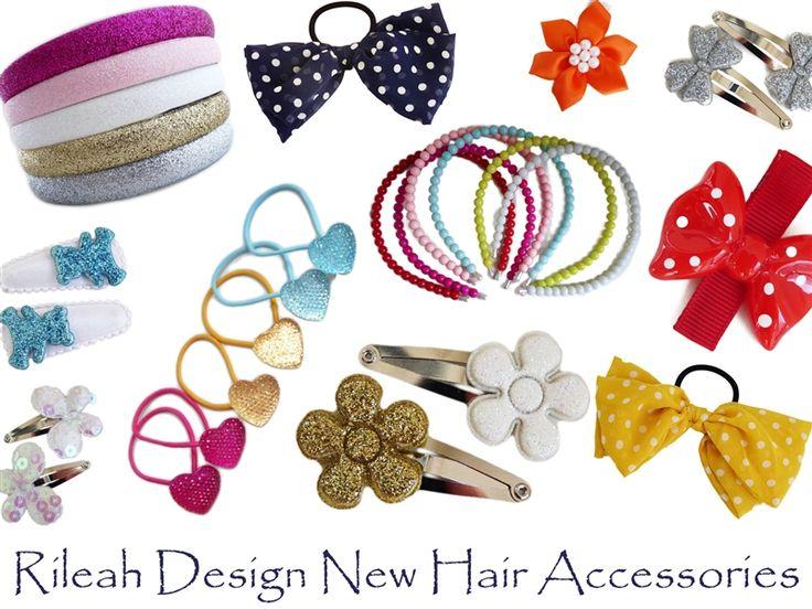 New Hair Accessories - Rileah Design