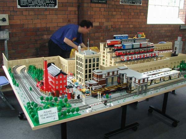 lego train display lego pinterest trains events and lego