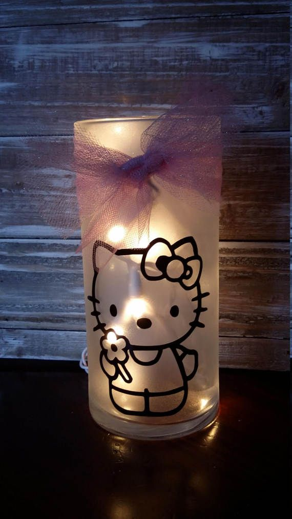 Hello Kitty/gift/Nightlight/Lamp/Bathroom/Bedroom/decoration