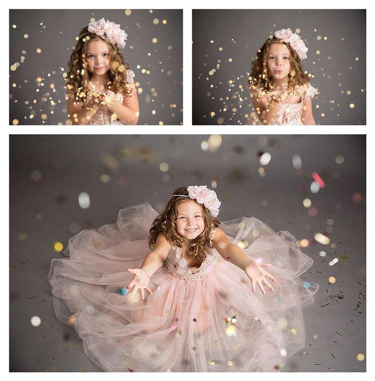 Glitter session, glitter, Kansas City children's photographer