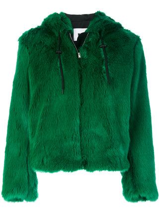 6b9b0514e27c MSGM hooded jacket | new seven in 2019 | Faux fur hooded jacket ...