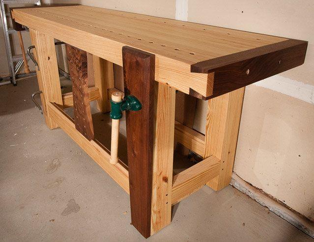 Roubo Workbench - by Marshall @ LumberJocks com
