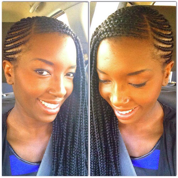 Box Braids Corn Rows Natural Hair Styles Natural Hair