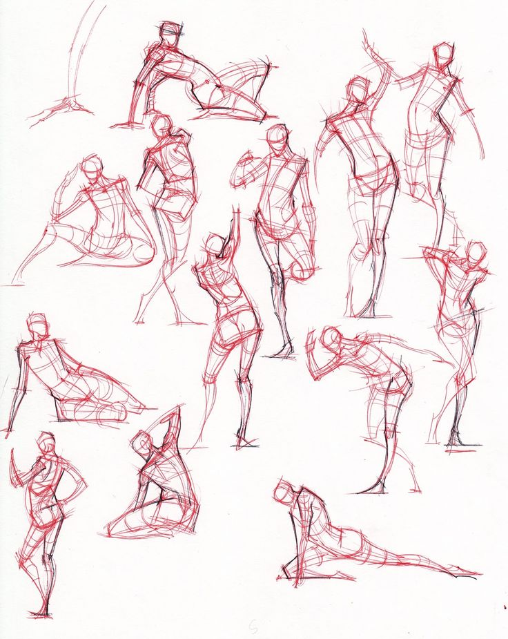 Gesture Drawing - Drawing the Human Figure Quickly