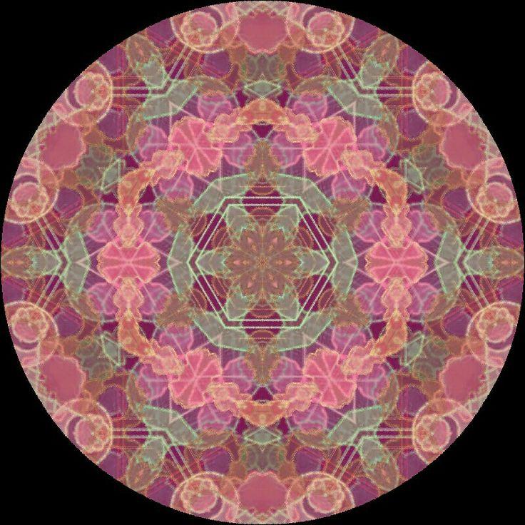 Mandala del Perdón. Más mandalas en facebook: Mandalas Indigo