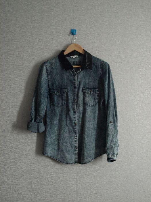 Marškiniai su odine apykakle - Marškiniai - Pincled Must have 2015-2016