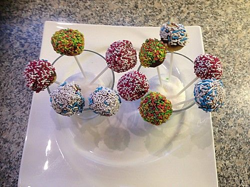 Schnelle Cake-Pops ohne Backen
